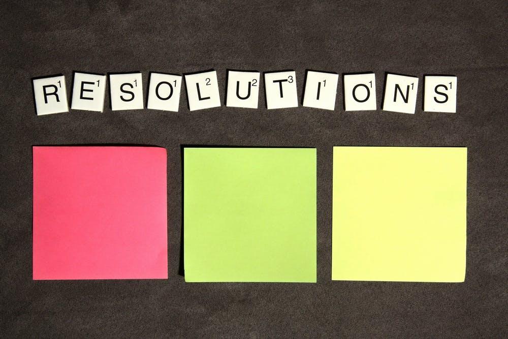 New Decade Resolutions
